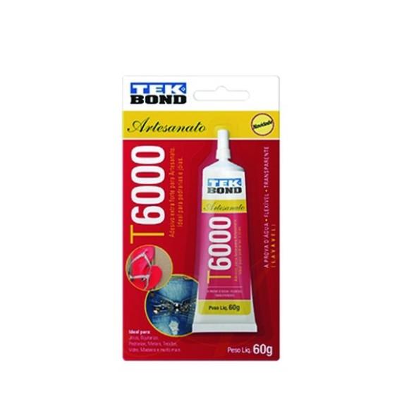 COLA P/ARTESANATO T6000 60GRS TEKBOND