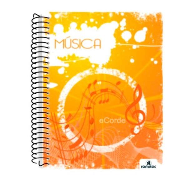 CADERNO MÚSICA UNIV. ROMITEC COM TEORIA MUSICAL