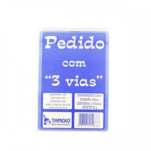 PEDIDO 1/36 PEQUENO 3VIAS REF.1086 TAMOIO
