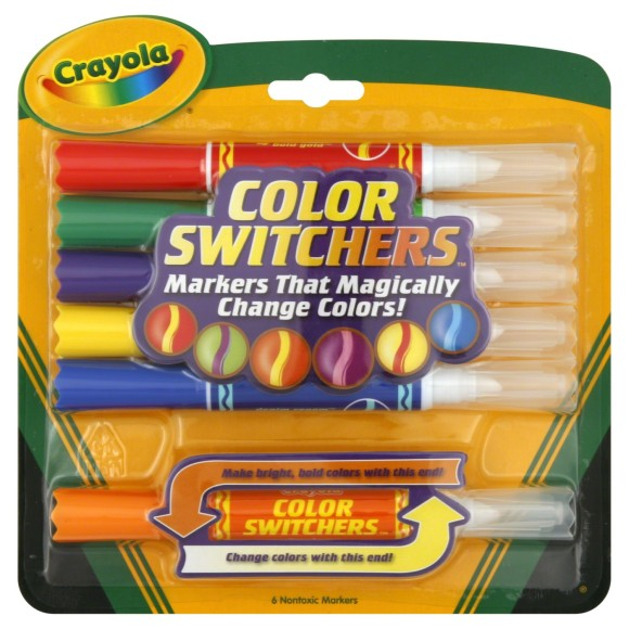 Canetinha Hidrográfica Mágica Muda De Cor - 6 Cores - Crayola