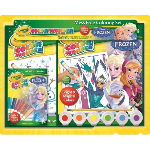 COLOR WONDER FROZEN GIFT SET - CRAYOLA
