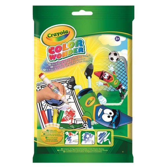 Color Wonder Mini Futebol 4 Canetas - Crayola
