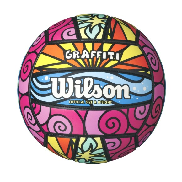 BOLA DE VÔLEI WILSON GRAFFITI  REF-WTH-4634XB
