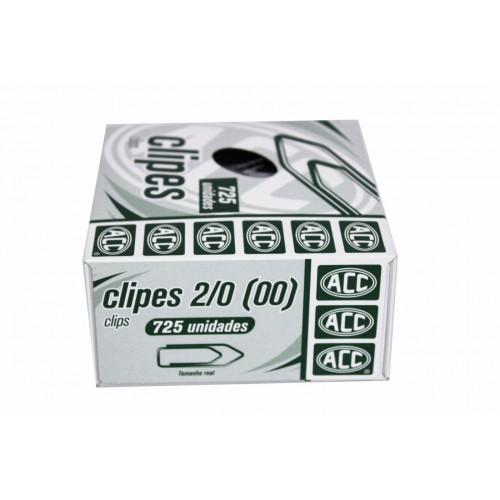 CLIPS 2/0 ACC C/500G (725 UN) GALVANIZADO