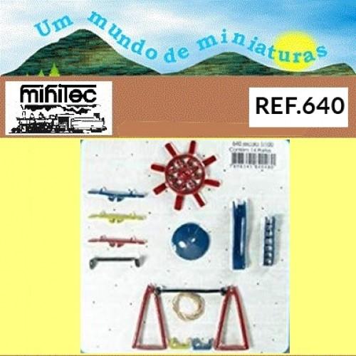 Miniatura de Playground Maquete 1/100 640 Minitec 04 Peças