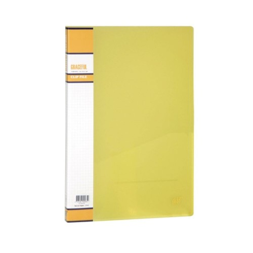 PASTA CLIP FILE OF.REF.911-PS AMARELO