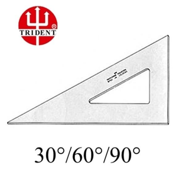 ESQUADRO 60° DESETEC TRIDENT 12CM REF.2612