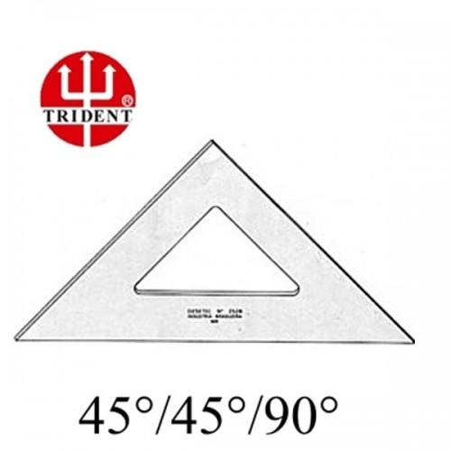 Esquadro 45° Desetec Trident Ref:1521 21cm