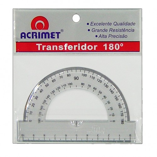 TRANSFERIDOR 180° ACRILICO REF.551 ACRIMET