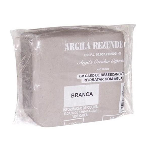 ARGILA ESCOLAR BRANCA 1KG