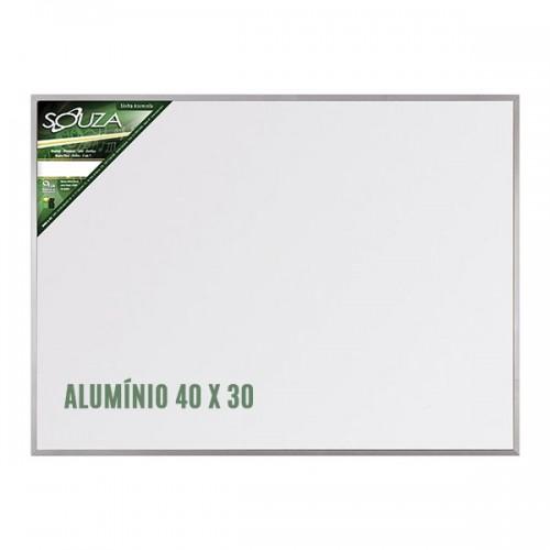 QUADRO BRANCO 30X40 ALUMÍNIO SOUZA REF-5600